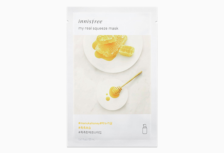 Mặt-nạ-Innisfree-My-Real-Squeeze-Mask-Manuka-Honey-Hàn-Quốc