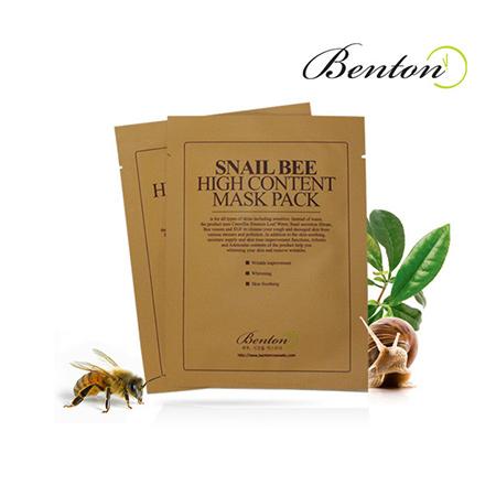 Mặt nạ dưỡng chiết xuất Ốc Sên Benton Snail Bee High Content Mask