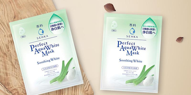 Mặt-nạ-dưỡng-trắng-da-Senka-Perfect-Aqua-White-Mask-Soothing-White