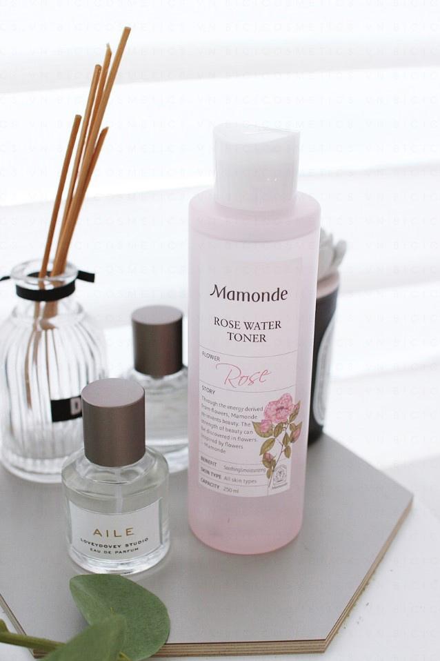 Nước-Hoa-Hồng-Mamonde-Rose-Water-Toner-150ml