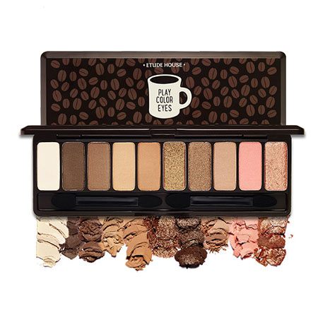 Phấn mắt Etude House Play Color Eyes 10 màu- in the Cafe