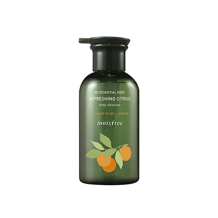 Sữa-Tắm-Innisfree-My-Essential-Body-Refreshing-Citrus-Body-Cleanser