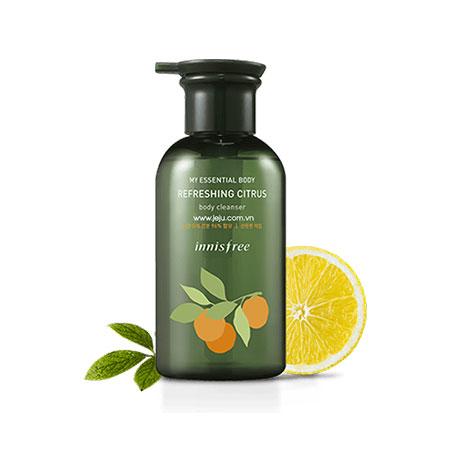 Sữa Tắm Innisfree My Essential Body Refreshing Citrus Body Cleanser