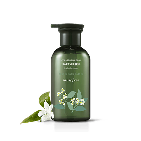 Sữa-Tắm-Innisfree-My-Essential-Body-Soft-Green-Body-Cleanser-330ml
