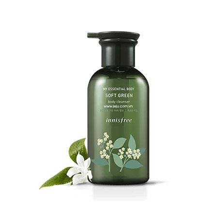 Sữa Tắm Innisfree My Essential Body Soft Green Body Cleanser