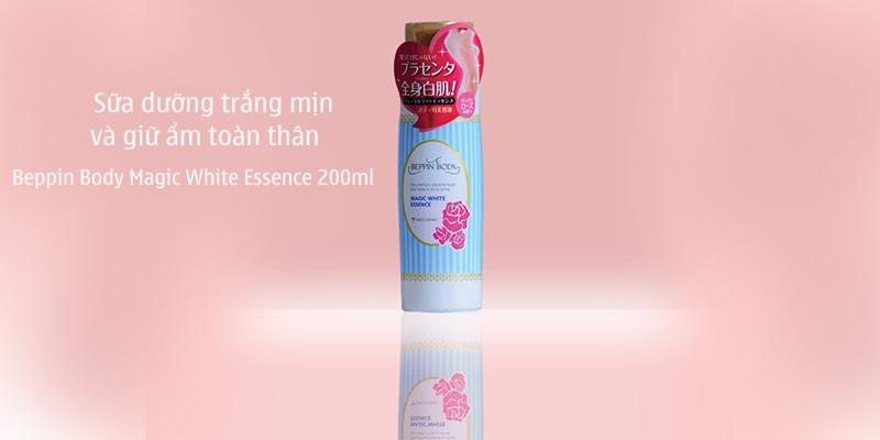 Sữa-dưỡng-trắng-mịn-và-giữ-ẩm-toàn-thân-Beppin-Body-Magic-White-Essence-200ml