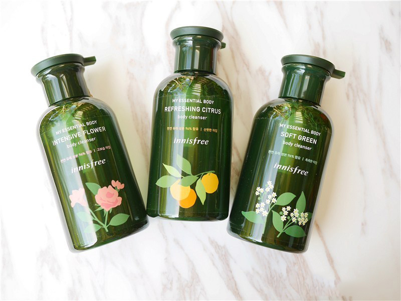Sữa-tắm-Innisfree-My-Essential-Body-Cleanser