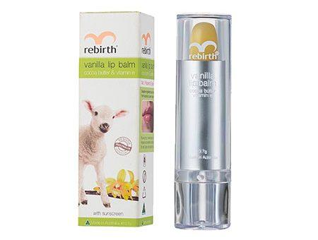 Son dưỡng môi Rebirth Goat Milk Lip Balm
