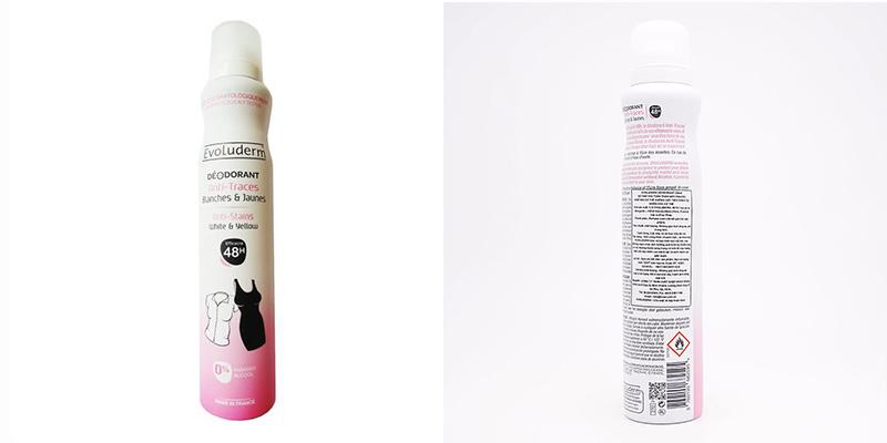 Xịt khử mùi toàn thân Evoluderm Déodorant Anti-Traces