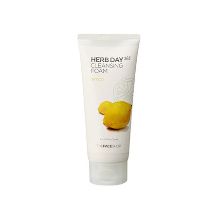Sữa Rửa Mặt The Face Shop Herb Day 365 Cleansing Foam Lemon