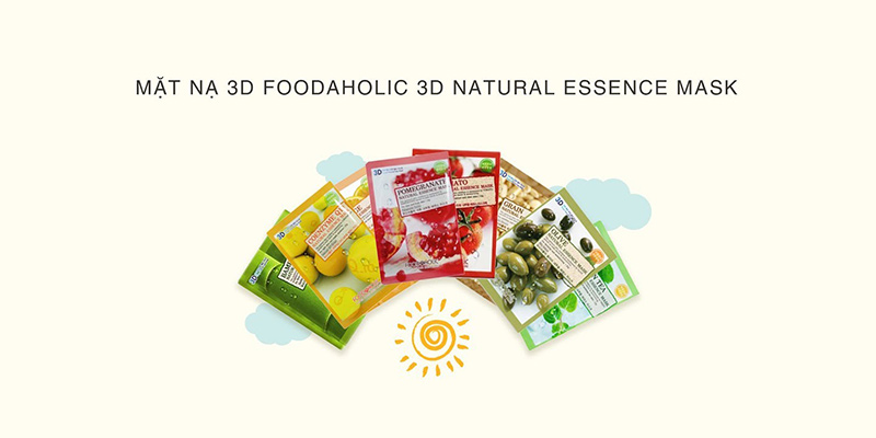 mặt-nạ-3D-Natural-Essence-Mask-Foodaholic