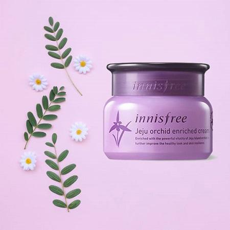 Kem dưỡng chống lão hóa Innisfree Jeju Orchid Enriched Cream