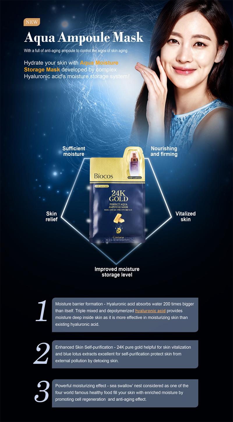 Mặt-nạ-vàng-Biocos-24k-Gold-Perfect-Aqua-Ampoule-Mask-01