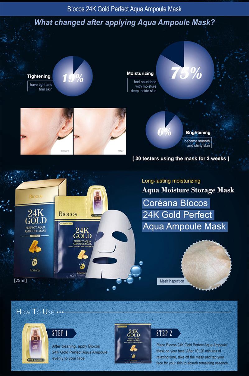Mặt-nạ-vàng-Biocos-24k-Gold-Perfect-Aqua-Ampoule-Mask-03