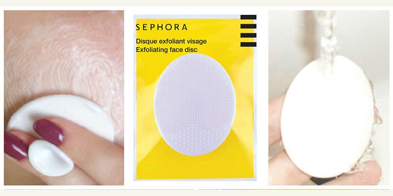 Miếng Rửa Mặt Sephora Exfoliating Face Disc