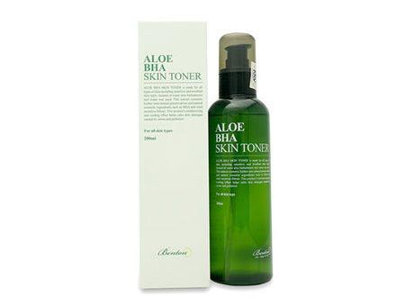 Nước hoa hồng Benton Aloe BHA Skin Toner cho da mụn