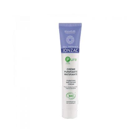 Kem Dưỡng Da Điều Tiết Dầu Nhờn Eau Thermale Jonzac Pure Purifying Mattifying Cream (50ml)