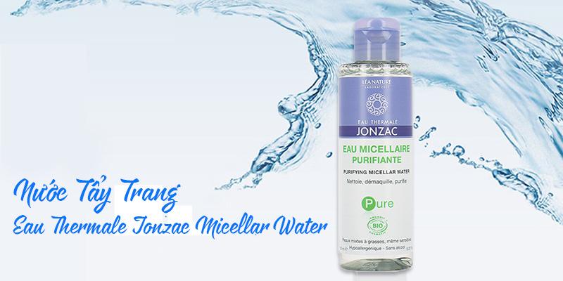 Nước tẩy trang cho da dầu, hỗn hợp Eau Thermale Jonzac Pure Purifying Micellar Water 150ml