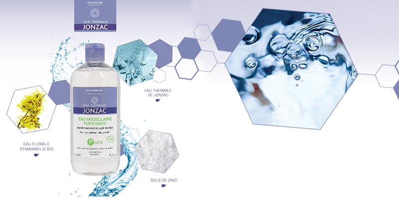 Nước tẩy trang cho da dầu, hỗn hợp Eau Thermale Jonzac Pure Purifying Micellar Water 500ml