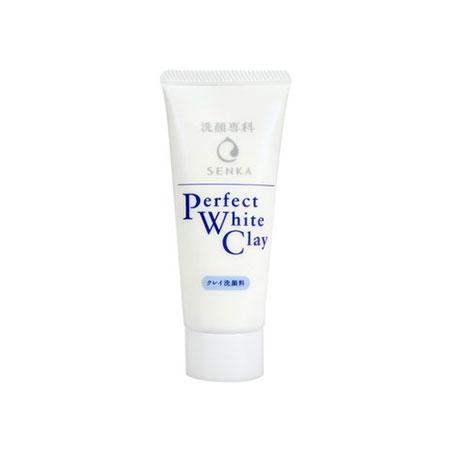 Sữa rửa mặt đất sét trắng Senka Perfect White Clay 50g