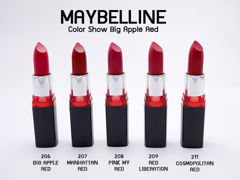Son-Màu-Lâu-Phai-Maybelline-Màu-Đỏ-Hồng-208-Pink-My-Red-3.9g