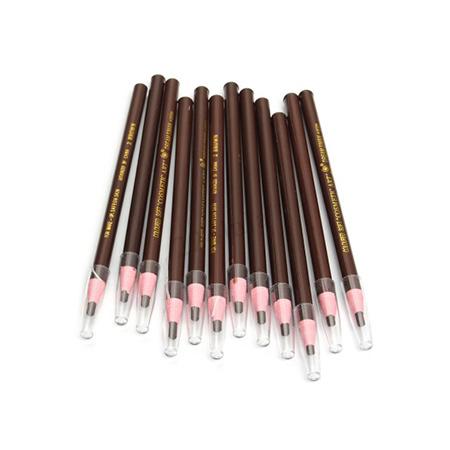 Chì-Xé-Kẻ-Chân-Mày-Coloured-Soft-Cosmetic-Art-Eyebrow-Pencil--màu-số-2--Brown