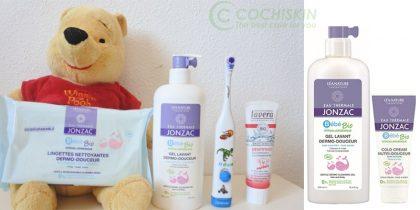 Gel Tắm Gội Eau Thermale Jonzac Bébé Bio Gentle Dermo Cleansing Gel Hair and Body 500ml
