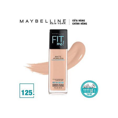 Kem-Nền-Maybelline-Fit-Me-Foundation-Tone-125-Nude-Beige
