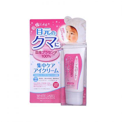 Kem trị thâm quầng mắt dưỡng da trắng mịn từ nhau thai White Lable Premium Placenta Eye Cream 30g