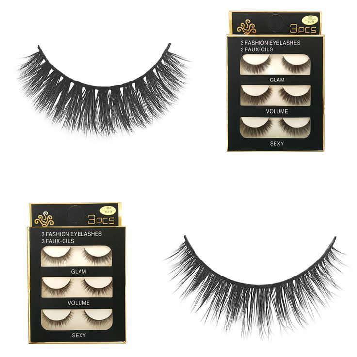 Lông-Mi-Giả-3D-3-Fashion-Eyelashes-(3-đôi)