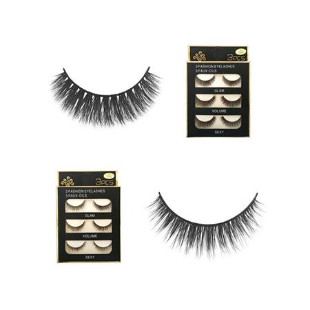 Lông Mi Giả 3D 3 Fashion Eyelashes (3 đôi)