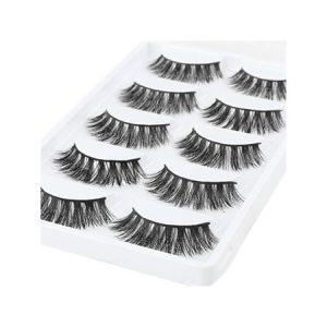 Lông Mi Giả 3D TL Cosmetic Beauty Eyelash (5 cặp) Số 10