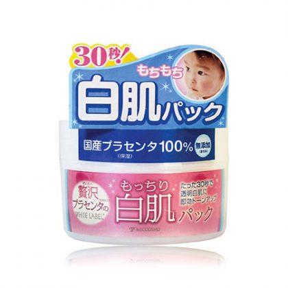 Mặt-nạ-rửa-trôi-làm-trắng-da-từ-nhau-thai-White-Label-Premium-Placenta-Pack-130g