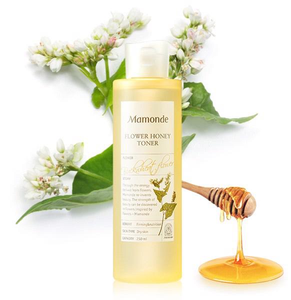 Nước-Cân-Bằng-Mamonde-Flower-Honey-Toner-(250ml)
