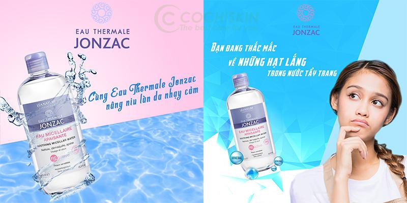 Nước Tẩy Trang Da Nhạy Cảm Kích Ứng Eau Thermale Jonzac Reactive Soothing Micellar Water 500ml