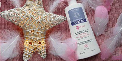 Sữa tẩy trang dịu nhẹ dùng cho mặt và mắt EauThermale Jonzac High Tolerance Cleansing Lotion For Sensitive Skin 200ml
