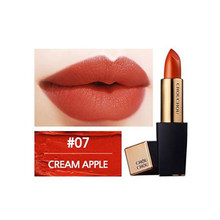 Son-Chouchou-The-Great-Desire-Matte-Rouge-màu-Số-7-Cream-Apple