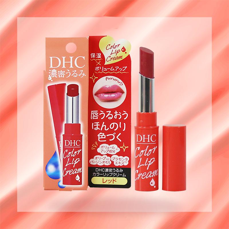 Son-Dưỡng-Có-Màu-DHC-Pure-Color-Lip-Cream-StickMàu-Đỏ