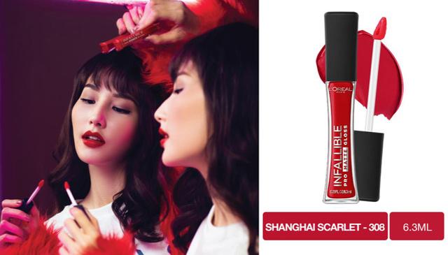 Son-Kem-Lì-Lâu-Trôi-L'ORÉAL-Pro-Matte-Liquid-Lips-Màu-308-Shanghai-Scarlet