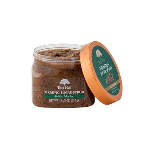 Tẩy Tế Bào Chết Toàn Thân Tree Hut Firming Sugar Scrub Italian Mocha (510g)