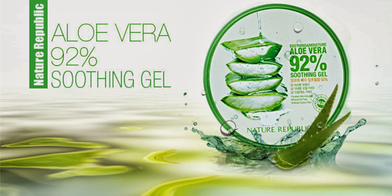 Gel dưỡng Nature Republic Aloe Vera 92 Soothing Gel