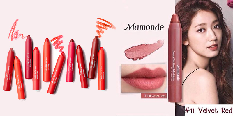 Son-Mamonde-Creamy-Tint-Color-Balm-Intense-Màu 11-Velvet-Red