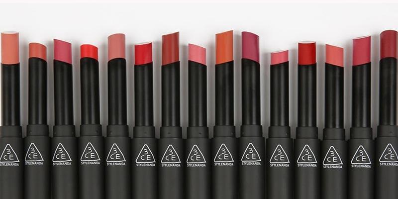 Bộ sưu tập 3CE slim velvet lip color