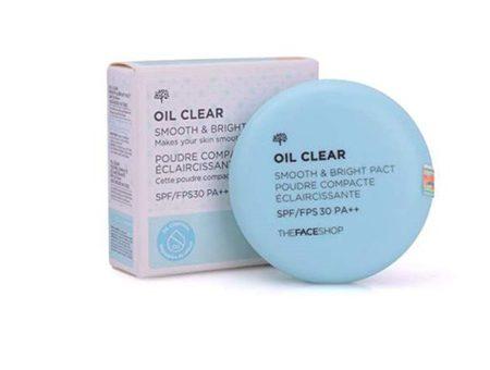 Phấn-Phủ-Kiềm-Dầu-The-Face-Shop-Oil-Clear-Smooth-&-Bright-Powder-SPF30