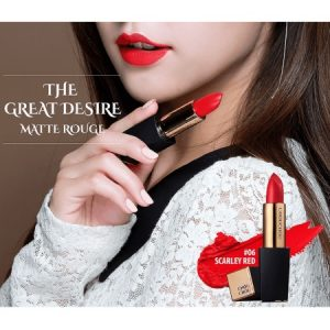 Son Chouchou The Great Desire Matte Rouge màu 06 Scarley Red