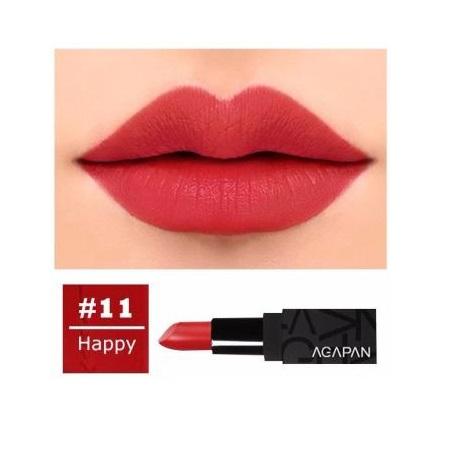 Son Lì Agapan Pit A Pat Matte Lipstick (3.5g) màu 11 Happy