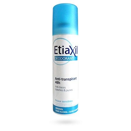 Xịt Khử Mùi Etiaxil Déodorant Anti-Transpirant 48h Anti-Traces Blanches & Jaunes