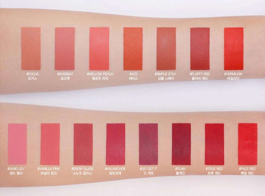 bảng-màu-Son-3CE-Slim-Velvet-Lip-Color-(3.2g)