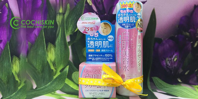 Combo-Miccosmo-Kem-dưỡng-trắng-da-nhau-thai+-Nước-hoa-hồng-dưỡng-da