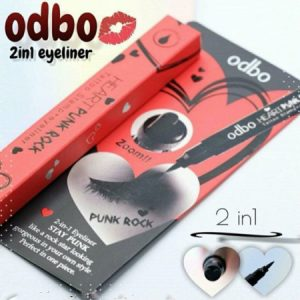 Mắt Nước Odbo Heart Punk Rock Tattoo Stamp Eyeliner
